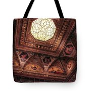 The East Room Ceiling Tote Bag