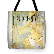 The Easter Hat Box Tote Bag