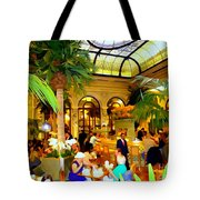 The Easter Holiday Tea At The Palm Court Tote Bag