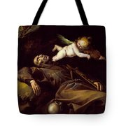 The Ecstasy Of Saint Francis Tote Bag