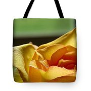 The Edge Of Yellow Tote Bag