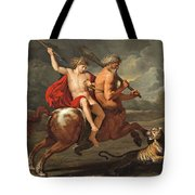 The Education Of Achilles Tote Bag