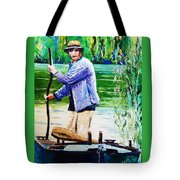The Eel Catcher Tote Bag