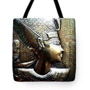 Queen Of Egypt Nefertiti Artwork Tote Bag
