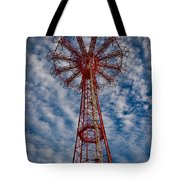 The Eiffel Tower Of Brooklyn Tote Bag