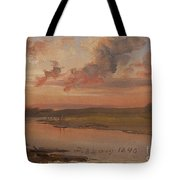 The Elbe In Evening Light Tote Bag