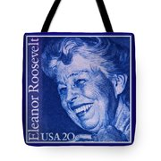 The Eleanor Roosevelt Stamp Tote Bag