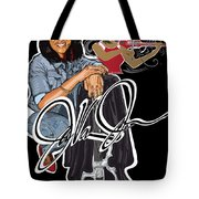 The Electric Violinist Tote Bag