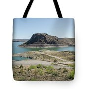 The Elephant At Elephant Butte Lake  Tote Bag by Allen Sheffield