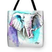 The Elephant King Tote Bag