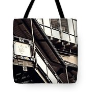 The Elevated Station At 125th Street 2 Tote Bag