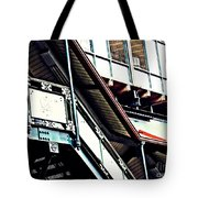 The Elevated Station At 125th Street Tote Bag
