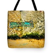 The Emerald Bow Tie Tote Bag