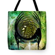 The Emerald Light  Tote Bag