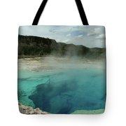 The Emerald Pool Colors Tote Bag