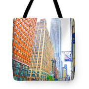 The Empire State Building 3 Tote Bag
