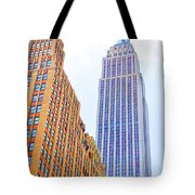 The Empire State Building 4 Tote Bag