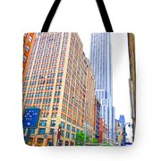 The Empire State Building 5 Tote Bag