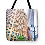 The Empire State Building 6 Tote Bag