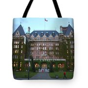 The Empress Hotel Tote Bag