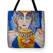 The Empressa  Of Hearts Angel Of Grace Beauty And Devotion Tote Bag