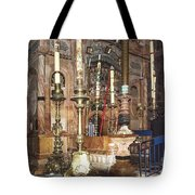 The Empty Tomb Of Christ Tote Bag
