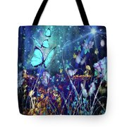 The Enchanted Garden Tote Bag
