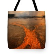 The Enchantment Of Grand Prismatic Spring Tote Bag