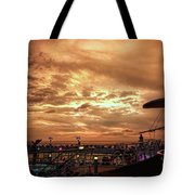 The End Of A Beautiful Day Tote Bag
