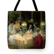 The End Of Dinner Tote Bag