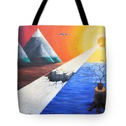 The End Of Humanity Tote Bag