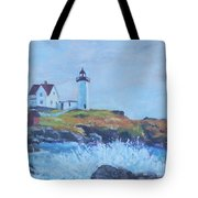 The End Of Summer- Cape Neddick Maine Tote Bag