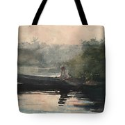 The End Of The Day Adirondacks Tote Bag