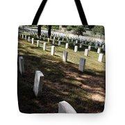 Arlington Tombstones Shade And Light Tote Bag