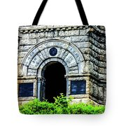 The Entrance To The Castle On Little Round Top Tote Bag