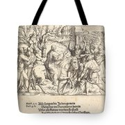 The Entry Into Jerusalem Tote Bag