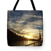 The Envious Moon Tote Bag