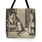 The Envoy Of Tuscany Thanking The Queen [verso] Tote Bag