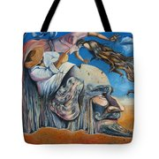 The Eternal Obsession Of Don Quijote Tote Bag