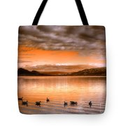 The Evening Geese Tote Bag