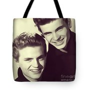 The Everly Brothers Tote Bag