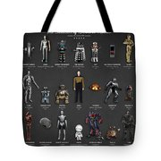 The Evolution Of Robots In Movies Tote Bag
