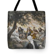 The Exhortation To The Apostles Tote Bag