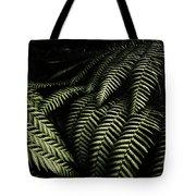 The Exotic Dark Jungle Tote Bag