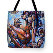 The Expecting Muse Tote Bag