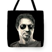 The Expendables Barney Ross Tote Bag