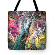 The Expulsion From Paradise Tote Bag