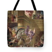 The Expulsion Of Heliodorus Tote Bag