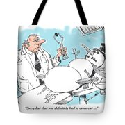 The Extraction. Tote Bag