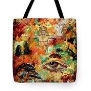 The Eye Of Art Tote Bag